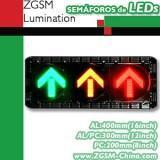 LED Traffic LIGHT-3 Arrows Vehicle Signal
