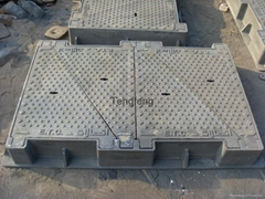 Heavy duty telecom manhole covers