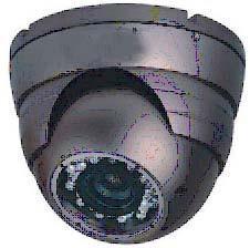 金属半球摄像机