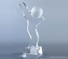 廣州水晶獎杯獎牌