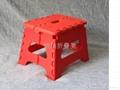 給力新年大紅塑料折疊凳