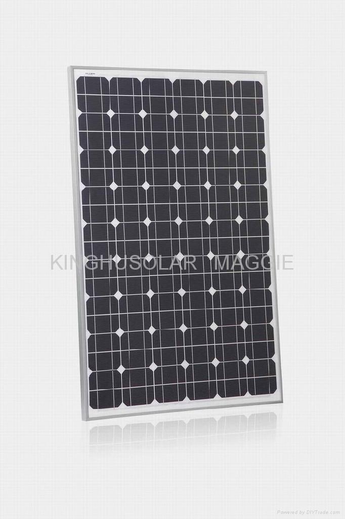 135W 太阳能单晶硅电池组件 1