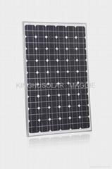 135W 太阳能单晶硅电池组件