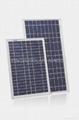 80W 太阳能多晶硅电池组件