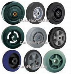 Rubber Wheels Steel Cast Iron Elastic Balloon Cushion