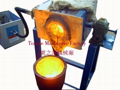 Medium frequency Induction Heating Smelting Furnace