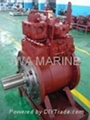 IHI hydraulic motor HVL for deck crane, winch, and windlass