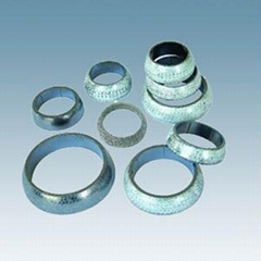 auto exhaust graphite ring gaskets