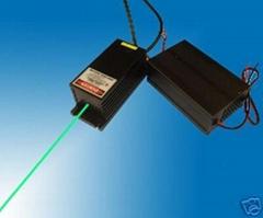 绿光点状激光器