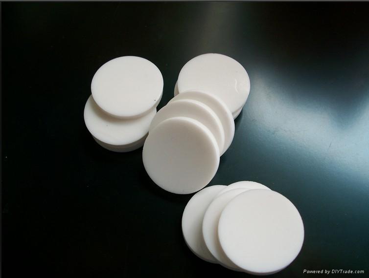 白色特氟龍白色硅膠隔墊20*3mm 1