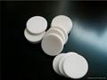 白色特氟龍白色硅膠隔墊20*3