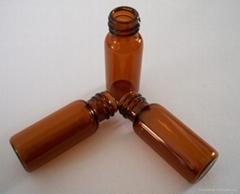 2ml透明螺紋自動進樣瓶棕色自動進樣瓶帶刻度8mm9mm