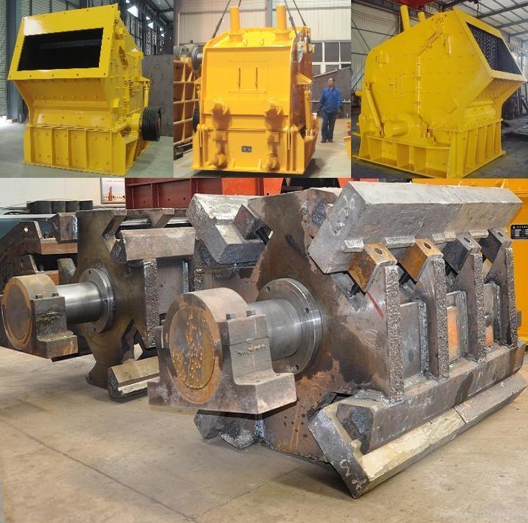 Mining Machinery of Stone Impact Crushers 4