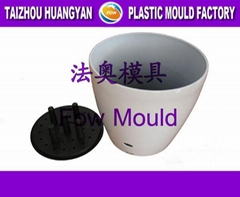 lacquered  flower pot mould