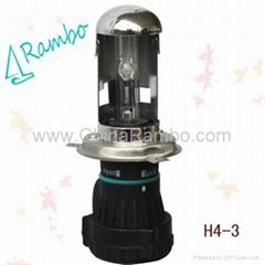 HID Xenon flexible lamp H4,xenon hid kits,hid xenon light,auto bulb,top quality