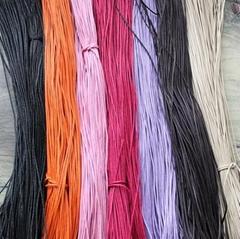 東莞供應各種款型環保手鏈蠟繩 環保項鏈蠟繩  環保鞋帶蠟繩