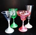 塑料 LED 发光 高脚酒杯