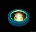 塑料 LED 发光 杯垫 2