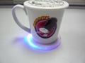 塑料 LED 发光 杯垫 4