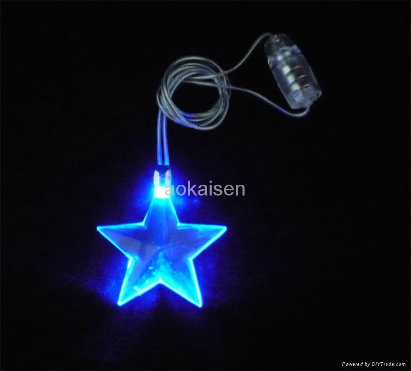 塑料 LED 发光项链 4