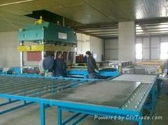 珍珠岩声屏障板自动化生产线成套设备