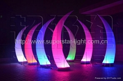 裝飾氣模象牙燈