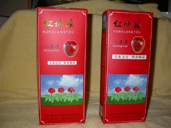 Ginseng Liquor  NOP/EEC