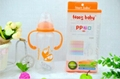 Regular neck PP baby feeding bottles