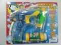 Auto bo bubble gun with 4 led light