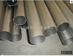 Titanium material titanium alloy, titanium tube,