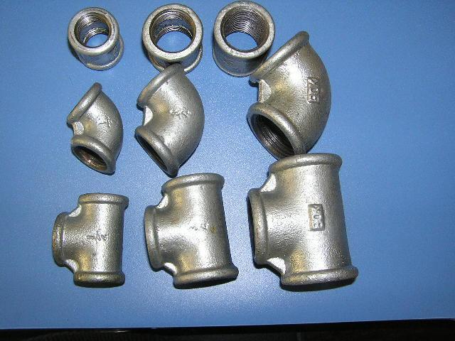 Galvanized malleable iron pipe fitting qiao qxm china
