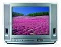 Slim Color TV--21inch