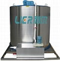 Ice machine evaporator