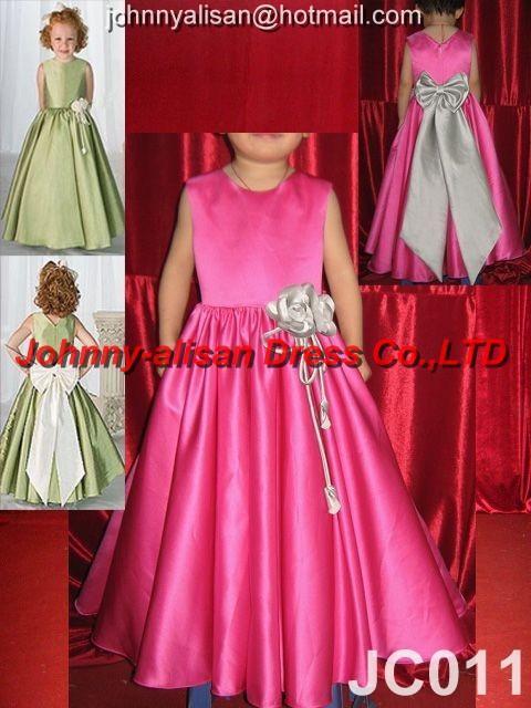 Designer Bridesmaid Flower Girl Dresses