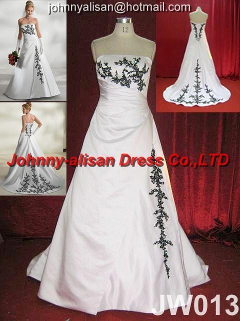 2010 Designer Embroidery beaded Wedding Dress Bridal Gown ball gown