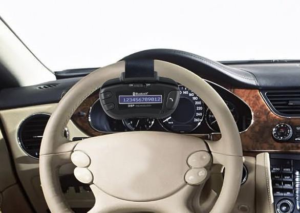 STEERING WHEEL BLUETOOTH CAR KIT
