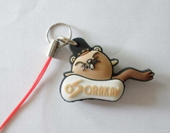 custom phone strap/ mobile phone charm/ mobile phone keychain