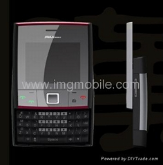 Qwerty keypad dual sim cards mobile phone