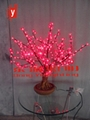 led cherry tree ,led bonsai light