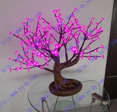 led bonsai tree& led cherry tree