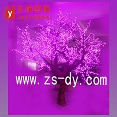 led simulation tree cherry tree lights