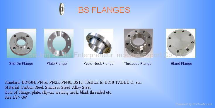 ANSI/DIN/JIS/BS Flange - DJM-F001 - DJM or OEM (China