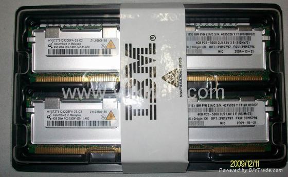 server ddr2 ram memory 39M5797 8GB Kit PC2-5300 CL5 ECC DDR2 1