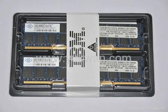 39M5809 2GB PC2-3200 CL3 ECC DDR2 SDRAM RDIMM server ddr2 ram memory for IBM 1