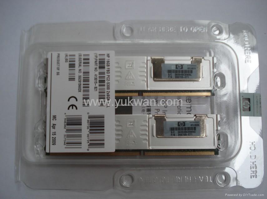 server ddr2 ram memory 408854-B21 8GB PC2 5300 DDR2 DIMM Registered 2X4GB 1