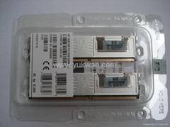 server ddr2 ram memory 408854-B21 8GB PC2 5300 DDR2 DIMM Registered 2X4GB