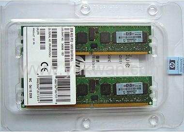 server ddr2 ram memory 343056-B21 2GB REG PC2-3200 2X1GB DDR All for HP 1