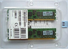 server ddr2 ram memory 343056-B21 2GB REG PC2-3200 2X1GB DDR All for HP