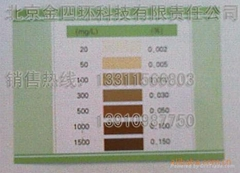 G-I型消毒剂浓度试纸