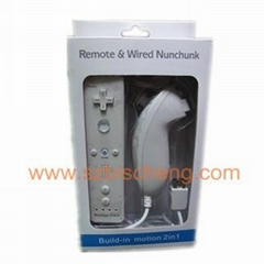WII nunchuck and remote